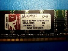 Kingston 512MB PC3200 DDR-400MHz non-ECC Unbuffered CL3 184-Pin DIMM Memory Modu