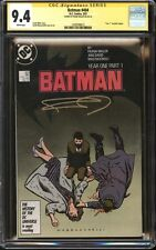Batman #404 CGC 9.4 SS Signed Frank Miller Year One Part 1 1st modern Catwoman