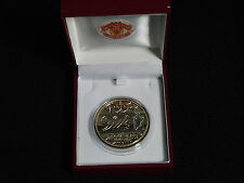 MANCHESTER UNITED 1994 PREMIER LEAGUE CHAMPIONS MEDAL WITH RED BOX AND CREST