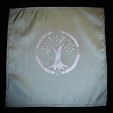 Mini ALTAR CLOTH Wicca Pagan Tree of Life  Witchcraft Travel Altar