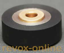 schwarze Gummi-Andruckrolle, für alle Studer Revox A77 (MKI - MKIV) Pinchroller