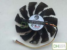 New 85mm3-pin 3-Wries Video Card Fan For Power Logic PLA09215S12H 85x85x15mm