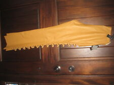 Vintage WILSON'S Maxima TAN Leather Open Leg Ring Loop Pants Size 4 Sexy! NEW!