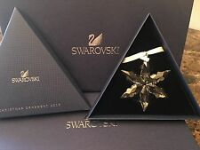 2015 SWAROVSKI CRYSTAL Annual Edition CHRISTMAS ORNAMENT Star Snowflake LARGE