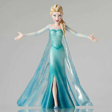 "Disney Couture De Force Lg Elsa Figure Let It Go 10"" New 2015 Cinematic Moment"