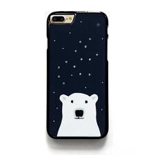 KATE SPADE SPARKLE POLAR BEAR iPhone 4/4S 5/5S 5C 6/6S 7/7S Plus SE Case Cover