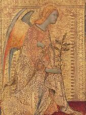 SIMONE MARTINI ITALIAN ANGEL ANNUNCIATION OLD ART PAINTING POSTER BB6368A