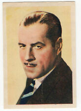 1936 Spanish Nestle Film Star Paper Thin Stamp Sticker #93 Jack Holt