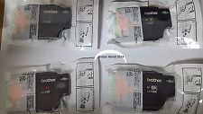 4PK Brother LC 40 Genuine Ink Cartridge Set / MFC-J430 432 5910 6510 6710 6910