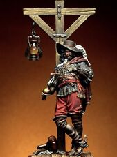 75 mm resin kit  pirate figures and baseplate RARE! For pegaso andrea