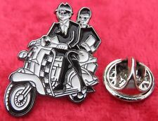 Ska Couple & Scooter Mod Mods Lapel Hat Tie Pin Badge Reggae Two Tone Brooch