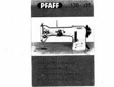 Pfaff 138 Sewing Machine Manual on CD
