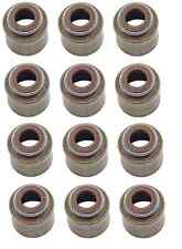 Mazda 323 MX-6 Set of 12 Engine Valve Stem Oil Seals Stone B630 10 155