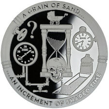 1 oz T.I.M.E. -  Series A Grain of Sand - Silver Round (New, Proof Like)