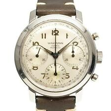 1960s Vintage Wakmann Venus 178 Triple Register Chronograph