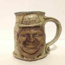 Jim Rumph Two Faced Hardy And Laurel Pottery Mug 1971