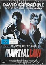 MARTIAL LAW - DAVID CARRADINE - NEW & SEALED DVDS