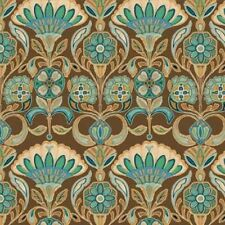 Wilmington Majestic Beauties by Daphne B 44055 214 Brown BTY Cotton Fabric