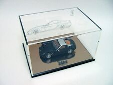1:43 BBR Ferrari 599 GTB Fiorano Black Grey Roof - Display Case BBREX19 RARE NEW
