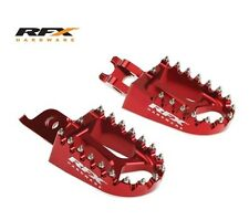 RFX Foot Pegs Footrests HONDA CRF150 CR125 CR250 CRF250 CRF450 RED