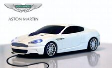 Aston Martin DBS USB Wired Car Mouse (Stratus White) - Officially Licensed