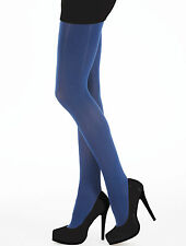 Opaque Satin Soft Tights In Blueberry