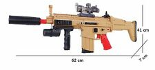 TOY GUN ASSULT RIFLE ELECTRIC REPEATING NERF FORM DART AND WATER ABSORB BULLET