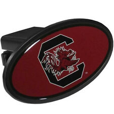 South Carolina Gamecocks Durable Plastic Oval Hitch Cover NCAA Licensed Football