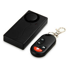 Security Wireless Remote Control Vibration Detector Door Window Burglar Alarm
