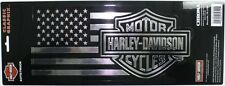 harley davidson motorcycle bike cycle decal sticker HD truck car chrome flag USA