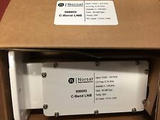New Norsat LNB 8000RI C-Band Digital DRO LNB 3.625 - 4.8 GHz