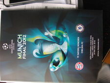 VIP Official Programme FC Bayern München Chelsea Champions League Final 2012 NEW