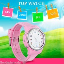 Watch Kids Smart Watch GPS LBS Double Location Safe Tracker SOS Call SIM Card