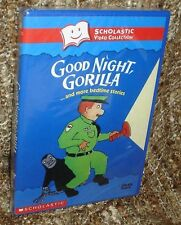 GOOD NIGHT, GORILLA..AND MORE BEDTIME STORIES DVD, NEW & SEALED, FROM SCHOLASTIC