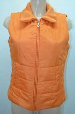 ESPRIT MANTEAU DOUDOUNE COAT ABRIGO 38 40 M ORANGE