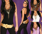 Sexy women new top with embroidery pearls ladies Blouse size 6 8 10 S M L shirt
