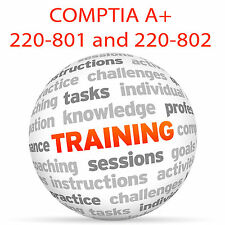 COMPTIA A+ EXAM PREP 220-801 and 220-802 - Video Training Tutorial DVD