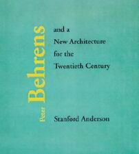 Peter Behrens and a New Architecture for the Twentieth Century-ExLibrary
