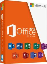 Microsoft Office 2016 Professional Plus 1PC - BRAND NEW - Fast Delivery In Hours