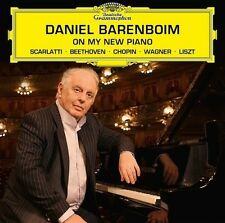DANIEL BARENBOIM - ON MY NEW PIANO  CD NEU  BEETHOVEN/CHOPIN/LISZT/WAGNER/+