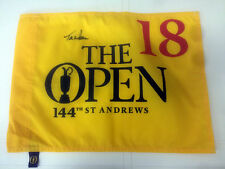Tom WATSON SIGNED 2015 Open Championship St. Andrews Golf Flag - HIS LAST OPEN