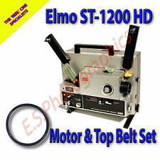 Elmo ST-1200HD super 8mm cine projector drive ceintures lot de 2