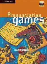 Cambridge Copy Collection: Pronunciation Games by Mark Hancock (1995, Spiral)