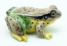 Figurine Animal Ceramic Statue Green High Frog - CAF008