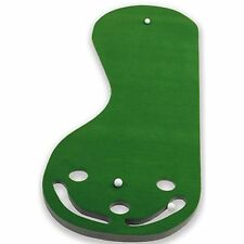 Par 3 Putting Green Practice Putting  Golf Mat Indoor Training Aid Equipment
