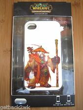 NEW World of WarCraft iPhone 4 4S Phone Clip Case Cover Single Piece Slim White