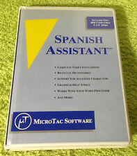 "Vintage IBM 5 1/4"" Floppy Disk Spanish Assistant - MicroTac Software"