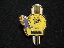 1998 NAGANO OLYMPIC PIN BADGE TORCH RELAY