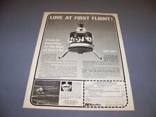 VINTAGE..ROTORWAY EXEC HELICOPTER... SALES AD...RARE! (655H)