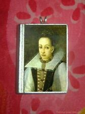 BLOODY COUNTESS OF BATHORY - PENDANT or BROOCH/pin